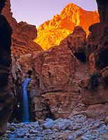 Hidden Falls  Nahal David Nature Reserve, Israel  Famous biblical site near Dead Sea  Judean Desert   Named for King David