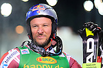 Aksel Lund SVINDAL competes during the FIS Alpine Ski World Cup Men's Parallel Giant Slalom in Alta Badia, on December 21, 2015. Norway's Kjetil Jansrud wins the race, Aksel Lund Svindal second and Sweden's Andre Myrher is third.