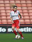 Sheffield United Ladies' Sophie Bell in action during the FA Women's Cup First Round match at Bramall Lane Stadium, Sheffield. Picture date: December 4th, 2016. Pic Clint Hughes/Sportimage