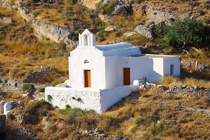 Small Greek Orthodox chapel,  Syros Island [ ????? ] , Greek Cyclades Islands