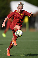 Amalie Thestrup of AS Roma  <br /> Roma 8/9/2019 Stadio Tre Fontane <br /> Luisa Petrucci Trophy 2019<br /> AS Roma - Paris Saint Germain<br /> Photo Andrea Staccioli / Insidefoto