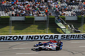 Verizon IndyCar Series<br /> ABC Supply 500<br /> Pocono Raceway, Long Pond, PA USA<br /> Sunday 20 August 2017<br /> Ed Jones, Dale Coyne Racing Honda, Alexander Rossi, Curb Andretti Herta Autosport with Curb-Agajanian Honda<br /> World Copyright: Michael L. Levitt<br /> LAT Images