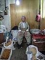 Iraq 2011  <br /> In the old souk of Erbil, seller of grains and spices in his shop   <br /> Irak 2011  <br /> Dans le vieux souk d'Erbil, le vendeur d'epices et de grains dans sa boutique