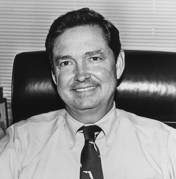 Portrait of Rep. E. Clay Shaw, R-Fla. December 18, 1992 (Photo by Stephen Rosenberg/CQ Roll Call via Getty Images)