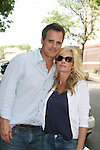 Michael Park and Maura West - As The World Turns' shoots its last show on June 23, 2010 at the studios in Brooklyn, New York. (Photo by Sue Coflin/Max Photos)