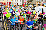 The start of the Kerry's Eye Tralee, Tralee Half Marathon on Saturday.