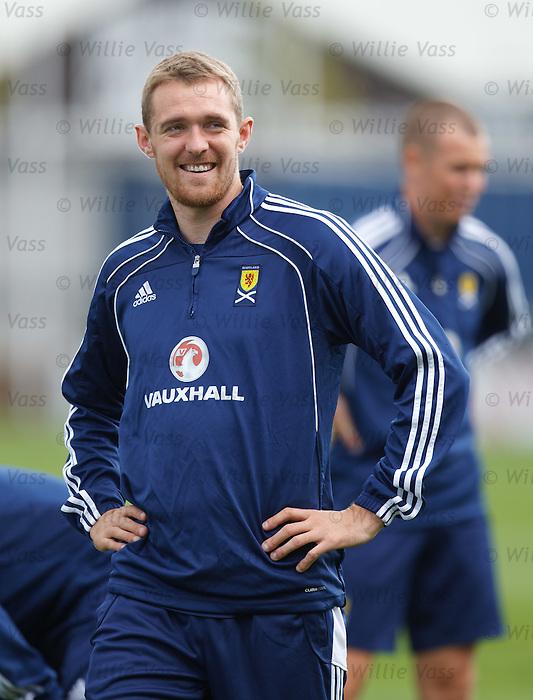 Darren Fletcher at training