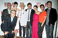 June 14 , 2012 Bernard Telsey, Robert LuPone, Krysten Ritter, William Cantler, Michael Chernus, Tammy Blanchard, Emmanuelle Chriqui and Eddie Kaye Thomas attend the MCC Theater's benefit reading of The Heart Of The Matter afterparty  at the Ramscale in New York City. © RW/MediaPunch Inc. NORTEPHOTO.COM<br />