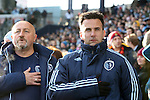 07 December 2013: Kansas City assistant coaches Kerry Zavagnin (right) and Zoran Savic (YUG) (left). MLS Cup 2013 was played between Sporting Kansas City and Real Salt Lake at Sporting Park in Kansas City, Kansas. Sporting Kansas City won the championship by winning the penalty kick shootout 7-6 after the game ended in a 1-1 tie.