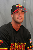 Rochester Red Wings Garrett Jones during media day at Frontier Field on April 5, 2006 in Rochester, New York.  (Mike Janes/Four Seam Images)