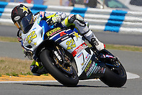 Tommy Hayden (22) is shown in action during the AMA SuperBike motorcycle race at Daytona International Speedway, Daytona Beach, FL, March 2011.(Photo by Brian Cleary/www.bcpix.com)