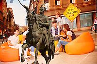 Ban Jela?i?  Statue , Ban Jela?i? Square, City of Zagreb, Croatia