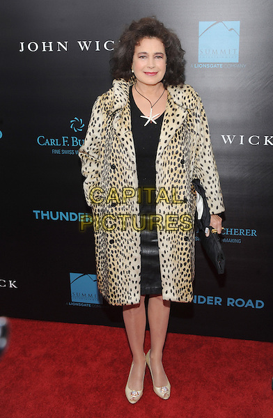 New York, NY- October 13:  Sean Young attends the Summit Entertainment and Thunder Road Pictures New York screening of John Wick at the Regal Union Square on October 13, 2014 in New York City.  <br /> CAP/RTNSTV<br /> &copy;RTNSTV/MPI/Capital Pictures