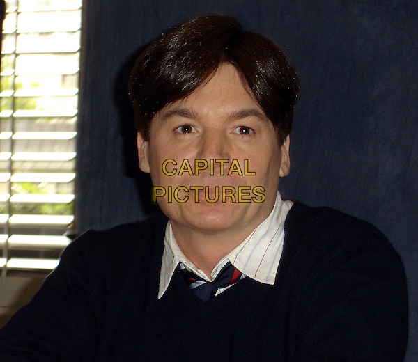 """MIKE MYERS.Press conference for """"Shrek The Third"""", W Hotel Westwood, Studio Three, California, USA..May 4th, 2007.headshot portrait black meyers .CAP/AW.©Anita Weber/Capital Pictures"""
