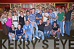 Kieran Houlihan from Ballyduff, standing centre having a ball with family and friends at his 21st birthday bash held in O'Connor's Hawthorn Bar on Saturday night.................................................................................................................................................................................................................................................. ............