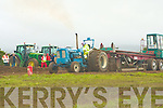 TRACTOR PULL: Colombo McGarry competed in Tractor Pull in the Mighty 142 at the Kerry Harvest Fair at Tralee Mart on Sunday.