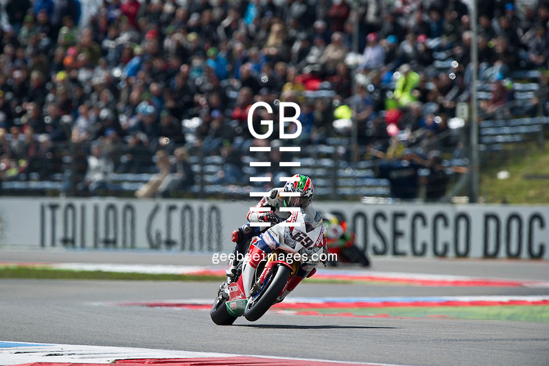 2016 FIM Superbike World Championship, Round 04, Assen, Netherlands, 15-18 April 2016, Nicky Hayden, Honda