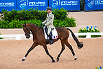 Donatien Schauly ADJ. Pivoine des Touches. FRA. Eventing Dressage. Day 3. World Equestrian Games. WEG 2018 Tryon. North Carolina. USA. 13/09/2018. ~ MANDATORY Credit Elli Birch/Sportinpictures - NO UNAUTHORISED USE - 07837 394578