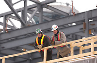 contruction of a new section at Trudeau-Montreal International Airport (YUL) formely known as Dorval Airport.<br />