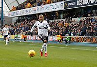 Leon Clarke of Sheffield United in action during the Sky Bet Championship match between Millwall and Sheff United at The Den, London, England on 2 December 2017. Photo by Carlton Myrie / PRiME Media Images.