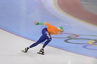 SCHAATSEN: SALT LAKE CITY: Utah Olympic Oval, 14-11-2013, Essent ISU World Cup, training, Sjoerd de Vries (NED), ©foto Martin de Jong