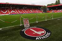 General view of the East Stand at Charlton Athletic FC during Charlton Athletic vs Coventry City, Sky Bet EFL League 1 Football at The Valley on 6th October 2018
