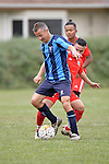 NELSON, NEW ZEALAND - JULY 23: Football Richmond Hornbills v Nelson College 2nd XI, Jubilee Park, July 23, 2016, Nelson, New Zealand. (Photo by: Barry Whitnall Shuttersport Limited)