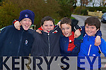 Larking about the hunt in Currow on Sunday l-r: Dean McSweeney, James, Kevin Courtney and Michael O'Leary Beaufort   Copyright Kerry's Eye 2008