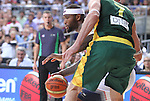 11.09.2014 Barcelona. FIBA Basketball World Cup. Semi-Finals. Picture show D. Cousins in action during game Usa v Lithuania at Palau St. Jordi