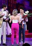 """John Behlmann and Lilli Cooper during the Broadway Opening Night of """"Tootsie"""" at The Marquis Theatre on April 22, 2019  in New York City."""