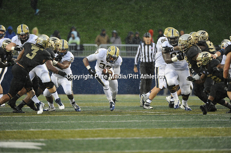 PITTSBURGH, PA, SEPT 12: The Pitt football team meets the Akron Zips at InfoCision Stadium-Summa Field in Akron, Ohio on September 12, 2015.<br /> Photographer: Pete Madia/Pitt Athletics