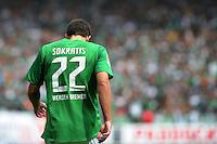 FUSSBALL   1. BUNDESLIGA   SAISON 2011/2012    1. SPIELTAG SV Werder Bremen - 1. FC Kaiserslautern             06.08.2011 Sokratis PAPASTATHOPOULOS (SV Werder Bremen)