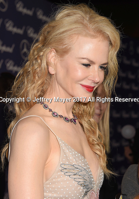 PALM SPRINGS, CA - JANUARY 02: Actress Nicole Kidman attends the 28th Annual Palm Springs International Film Festival Film Awards Gala at the Palm Springs Convention Center on January 2, 2017 in Palm Springs, California.