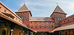 Nidzica. Gotycki zamek krzyżacki z XIV wieku