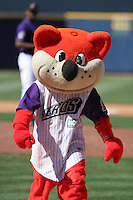 Akron Aeros mascot during an Eastern League game at Canal Park on April 15, 2006 in Akron, Ohio.  (Mike Janes/Four Seam Images)
