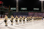 Mike Preston (Army - 29), Michael Wilson (Army - 27), Ian Mansfield (Army - 22), Conor Andrle (Army - 20), Tipper Higgins (Army - 19),  - The Bentley University Falcons defeated the Army West Point Black Knights 3-1 (EN) on Thursday, January 5, 2017, at Fenway Park in Boston, Massachusetts.The Bentley University Falcons defeated the Army West Point Black Knights 3-1 (EN) on Thursday, January 5, 2017, at Fenway Park in Boston, Massachusetts.