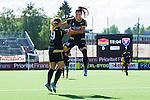 Tyres&ouml; 2014-05-25 Fotboll Damallsvenskan Tyres&ouml; FF - FC Roseng&aring;rd :  <br /> Roseng&aring;rds Elin Rubensson har gjort 1-0 och jublar med Ramona Bachmann <br /> (Foto: Kenta J&ouml;nsson) Nyckelord:  Damallsvenskan Tyres&ouml;vallen Tyres&ouml; TFF FC Roseng&aring;rd FCR Malm&ouml; jubel gl&auml;dje lycka glad happy