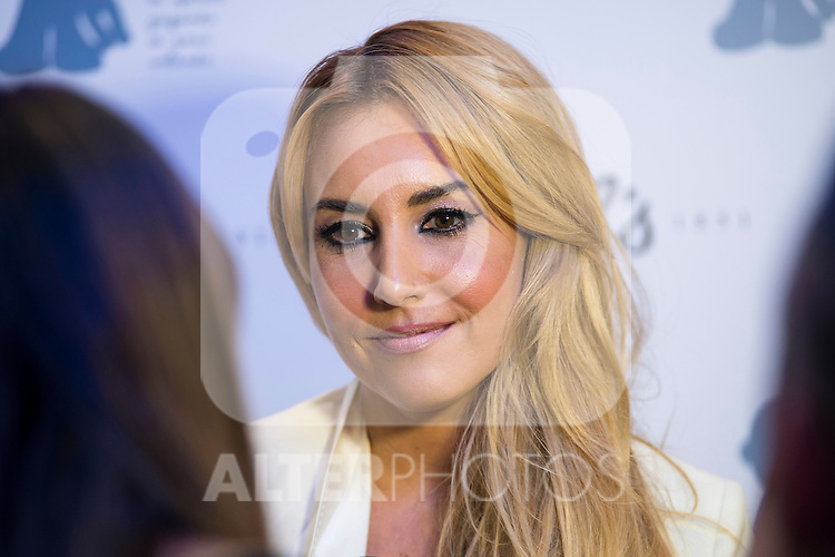 Berta Collado attends the presentation of the new charity project between Kiehl's and Juegaterapia Foundation at Flagship de Khiel's in Madrid, September 30, 2015.<br /> (ALTERPHOTOS/BorjaB.Hojas)