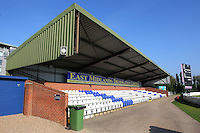 The East Midlands Demolition stand ahead of Derbyshire CCC vs Essex CCC, Specsavers County Championship Division 2 Cricket at the 3aaa County Cricket Ground on 15th August 2016