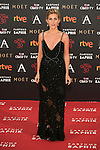 Cecilia Freire attends 30th Goya Awards red carpet in Madrid, Spain. February 06, 2016. (ALTERPHOTOS/Victor Blanco)