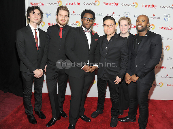 NEW YORK, NEW YORK - February 9:  Acapella Group Duwende attend the 13th Annual Red Dress Awards on February 9, 2016 in New York City. Credit: John Palmer/MediaPunch