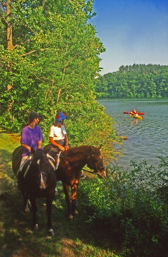 Horseback riding, York County Park, PA