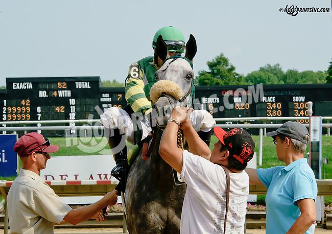 Sarbanes winning at Delaware Park on 7/23/14