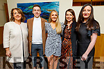 "Geraldine and Darragh Hurley, Laura Brassil, Valerie Kerins and Aine Hurley attending the ""Strictly Come Dancing"" Mr and Mrs in the Ballyroe Heights Hotel"