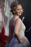 www.acepixs.com<br /> September 13, 2017  New York City<br /> <br /> Jennifer Lawrence attending the 'Mother!' film premiere at Radio City Music Hall on September 13, 2017 in New York City.<br /> <br /> Credit: Kristin Callahan/ACE Pictures<br /> <br /> Tel: 646 769 0430<br /> Email: info@acepixs.com