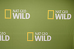 PASADENA - JAN 3: Nat Geo Wild logo of the show National Geographic Channel at the National Geographic Channels TCA party on January 3, 2013 at the Langham Hotel in Pasadena, California