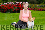 Ginger is representing Kerry in the 2015 Nose of Tralee competition pictured here with owner Stacey Wallace, Ballinorig, Tralee
