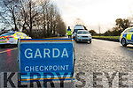 Garda Checkpoint stock photos, Kerry.