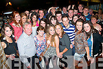Sinead Boyle,Ballyard,Tralee(front centre)had a great time celebrating her 18th birthday last Saturday night in Ruairi?s bar,the Square,Tralee with her parents Francis and Noreen and many friends and family.