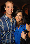 Brian Oehme and Monica Hartland at the Second Annual True Blue Gala sponsored by the Houston Police Foundation at the home of Paige and Tilman Fertitta Saturday Oct. 17,2009. (Dave Rossman/For the Chronicle)